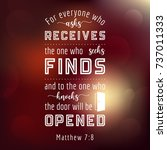 Bible Quote From Matthew ...