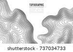 topographic map contour