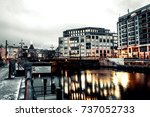 berlin  germany   january 23 ... | Shutterstock . vector #737052733