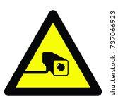 warning signs   Shutterstock .eps vector #737066923