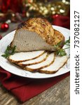 Small photo of Christmas roast with spices