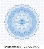 light blue passport style... | Shutterstock .eps vector #737226973