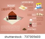 illustration vector of sweet... | Shutterstock .eps vector #737305603