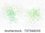 light pink  blue vector red... | Shutterstock .eps vector #737368243