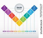 business presentation concept... | Shutterstock .eps vector #737373127