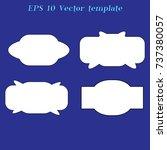 simple label | Shutterstock .eps vector #737380057