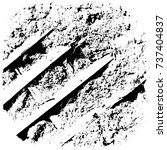 vector grunge background black...   Shutterstock .eps vector #737404837