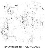 vector grunge background black... | Shutterstock .eps vector #737406433