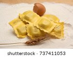 "Small photo of Handmade ""Pasta all'uovo""."