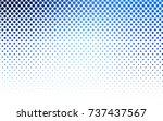 light blue vector red pattern... | Shutterstock .eps vector #737437567