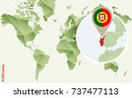 infographic for portugal ... | Shutterstock .eps vector #737477113