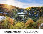 view of the beautiful... | Shutterstock . vector #737610997