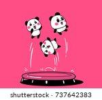 vector illustration of lovely...   Shutterstock .eps vector #737642383