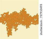 vector confetti background...   Shutterstock .eps vector #737910493
