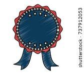 united states of america emblem ... | Shutterstock .eps vector #737912053