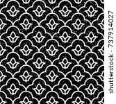 seamless black and white grunge ...   Shutterstock .eps vector #737914027