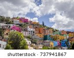 View Of The Colorful City Of...