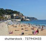 nice  france   september 27 ... | Shutterstock . vector #737943433
