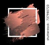 gradient vibrant pink strokes... | Shutterstock .eps vector #737980723
