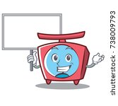 bring board scale character... | Shutterstock .eps vector #738009793