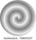 lines in circle form . spiral... | Shutterstock .eps vector #738024157