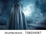 ghost | Shutterstock . vector #738034087