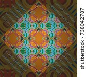 vector element for graphical... | Shutterstock .eps vector #738042787