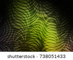 dark green  yellow vector... | Shutterstock .eps vector #738051433