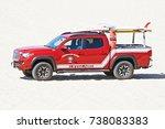 huntington beach california  ...   Shutterstock . vector #738083383