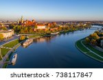 Skyline Panorama Of Krakow  ...