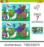 cartoon vector illustration of... | Shutterstock .eps vector #738153673