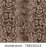 animal skin pattern | Shutterstock .eps vector #738232213