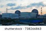 an atomic power plant