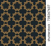 geometric seamless pattern   Shutterstock .eps vector #738267637