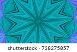 abstract kaleidoscope... | Shutterstock . vector #738275857