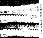 grunge background of vector ink ... | Shutterstock .eps vector #738288073