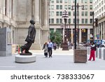 philadelphia  pa  usa   october ... | Shutterstock . vector #738333067
