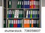 stock file cabinet | Shutterstock . vector #738358837