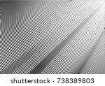 minimal grey scale a4 cover... | Shutterstock .eps vector #738389803