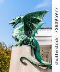 slovenia  ljubljana   the... | Shutterstock . vector #738395977