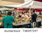 slovenia  ljubljana   august 25 ... | Shutterstock . vector #738397297
