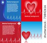 medical background set | Shutterstock .eps vector #73842616
