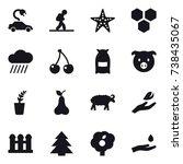 16 Vector Icon Set   Electric...
