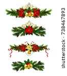 christmas elements for your... | Shutterstock .eps vector #738467893