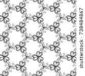 floral lacy pattern  elegant...