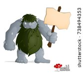 Big Forest Troll Of Gray From...