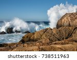Splashing Waves Against The...