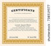 orange diploma template or