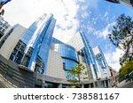 brussels  belgium   may 20 ... | Shutterstock . vector #738581167
