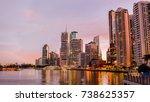 brisbane  australia. july 2017  ... | Shutterstock . vector #738625357